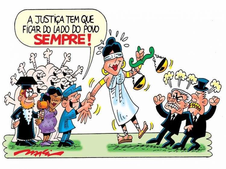 charge justica